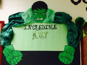 Incredible Art Hulk