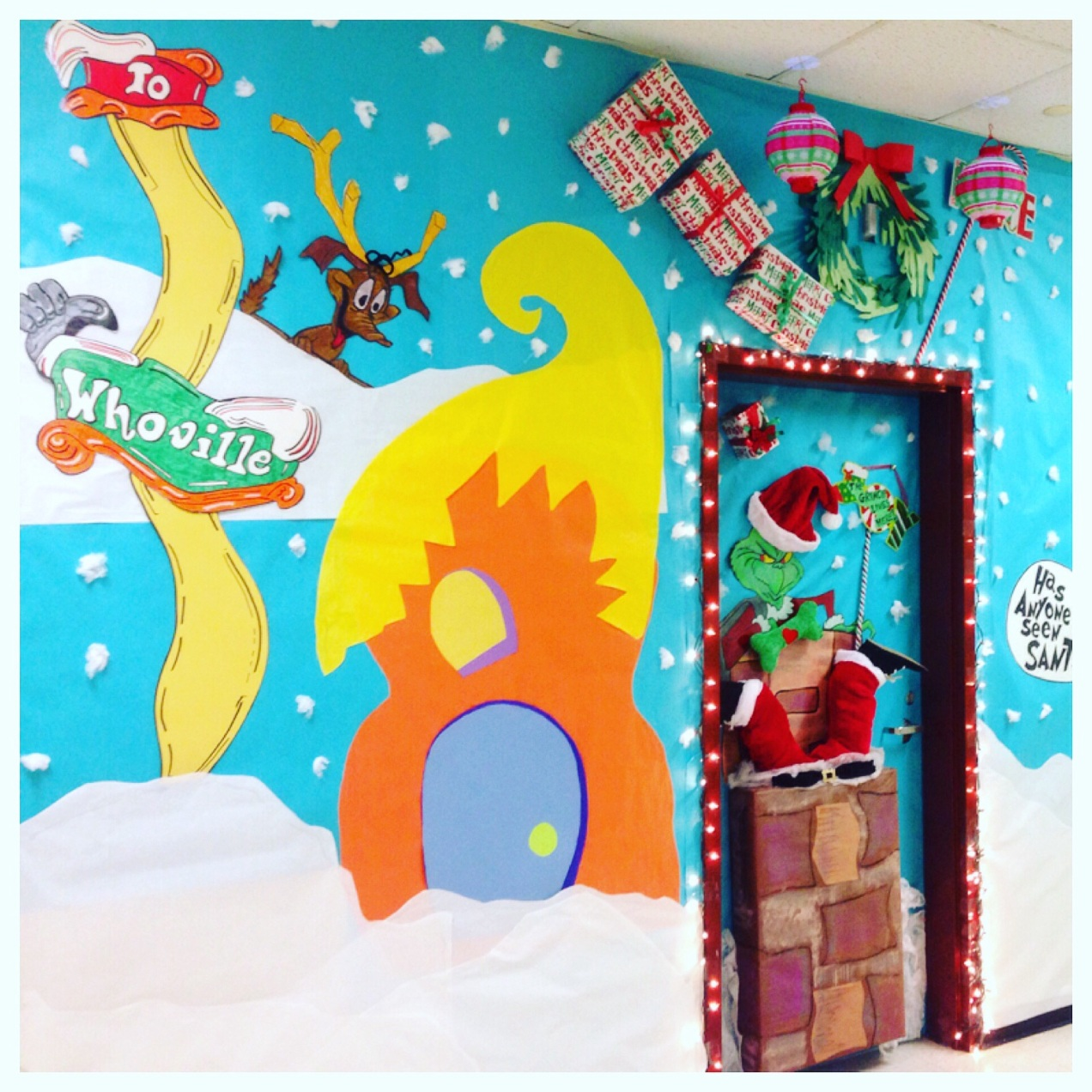Christmas Decoration Classroom: Amazing Art Teacher