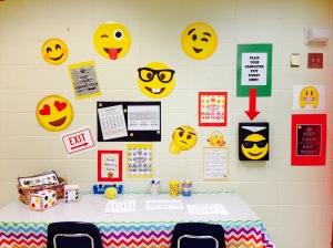 Emoji Exit Table
