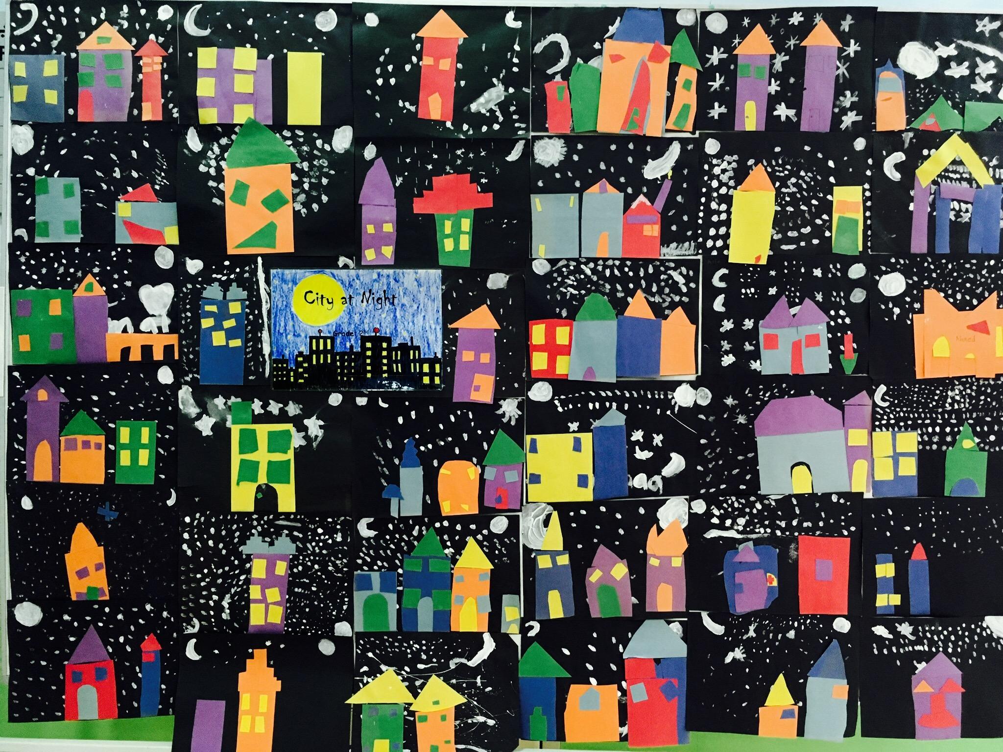 1st Grade City at Night