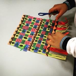 African Kente Cloths