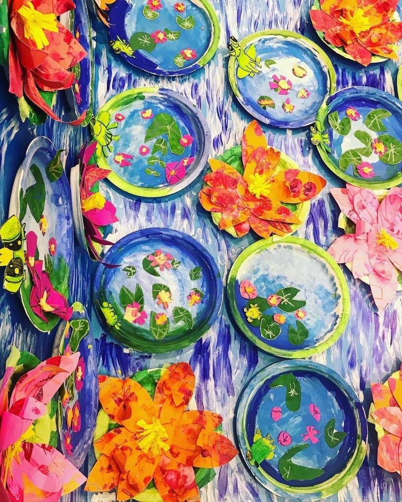 Monet Inspired Pond