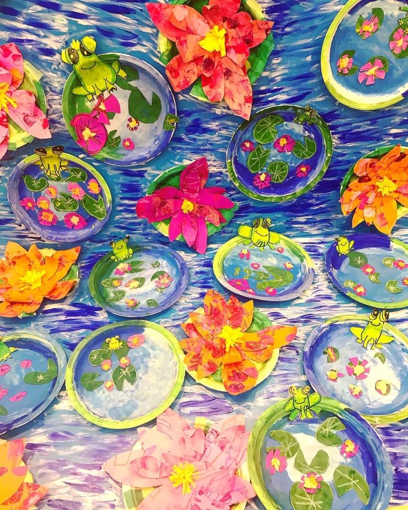 Monet Grade 1 and 2 Display